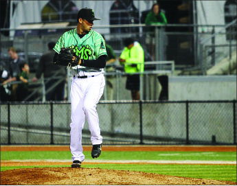 Dealing — Richardson received a promotion after spending the year in Oregon. Photo provided