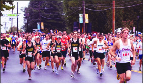 Race — Runners from across Virginia traveled to Lynchburg. Photo credit: Creative Commons
