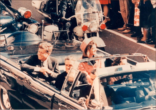 Dallas — Lee Harvey Oswald allegedly assassinated John F. Kennedy Nov. 22, 1963 as he rode through Dealey Plaza. Google Images