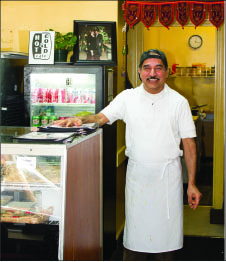 OWNER — Muhkerjee specializes in organic dishes. Photo credit: Hannah Lipscomb