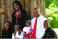 Family — The Jordans are a foster care  adoption family. Photo provided