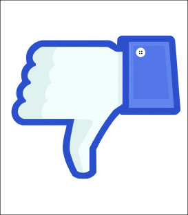 DISLIKE — Facebook struggles to keep its image amidst controversy.  Google Images