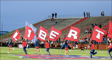 Barren — Liberty fans have created a habit of leaving sporting events early. Photo credit: Ruth Bibby