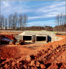 Construction of vehicular tunnels is in its final stage Photo credit: Courtney Russo