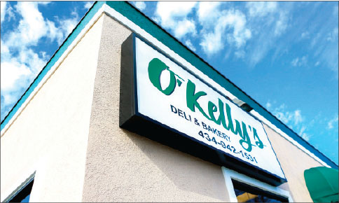 irish — O'Kelly's Deli and Pastries serves a variety of breads and sandwiches, as well as unique desserts. Photo credit: Courtney Russo