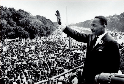 LEADERSHIP — Martin Luther King, Jr.'s role in the civil rights movement has not been forgotten. Google Images
