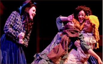 adventure — The play follows the story of sisters during the Civil War. Photo credit: Courtney Russo