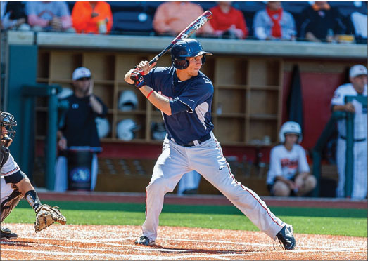 TURning heads — Baseball America ranked Perritt as the 98th-best prospect in all of college baseball. Photo provided