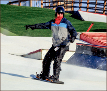 SLOPE — Snowflex offers winter sports year-round. Photo credit: Amber Lachniet