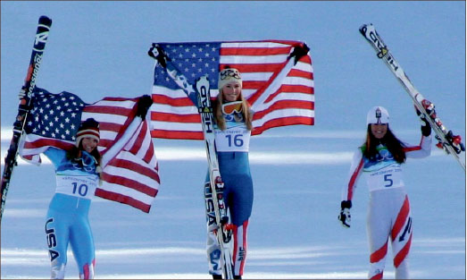 CHAMPIONS — Team USA won 37 medals, including nine gold, in the 2010 winter Olympics in Vancouver, Canada. Google Images
