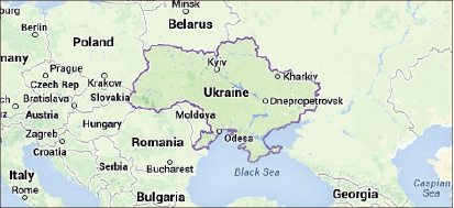 CONFLICT — The threat of war has resulted in tension in the Eastern European region. Google Images