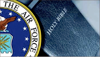 SEPaRATION — Air Force campus insists on refraining from religious statements. Google Images