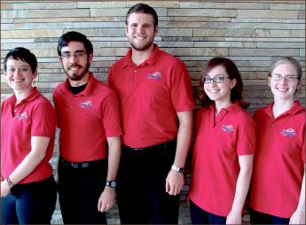 Success — With a 20th place finish, the Quiz Bowl team had its best season in school history. Photo provided