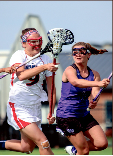 LOW POINT — The Panthers outshot the Lady Flames 31-16 Friday, April 11. Photo credit: Leah Stauffer