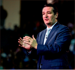 Motive — Cruz emphasized the need for students to act. Photo credit: Leah Stauffer