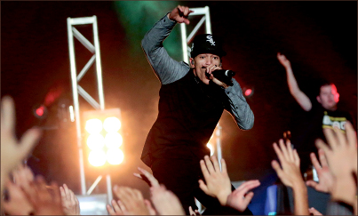 Concert — Christian rap artists such as Trip Lee and Tedashii bring a night full of energy to the Vines Center during CFAW.