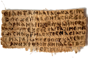 ANCIENT — Authenticity of papyrus called into question by scholars and theologians. Google Images