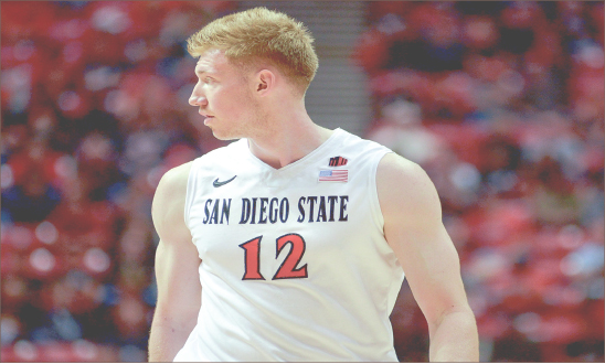 Cross Country — Big man James Johnson will wear a new uniform next year after playing this past season at San Diego State. Google Images
