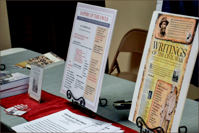 FREEDOM — Attendees learned about how the Civil War changed society. Photo credit: Marybeth Dinges