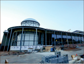 The new LaHaye Student Union is currently undergoing a 67,000-square-foot expansion. Photo credit: Courtney Russo