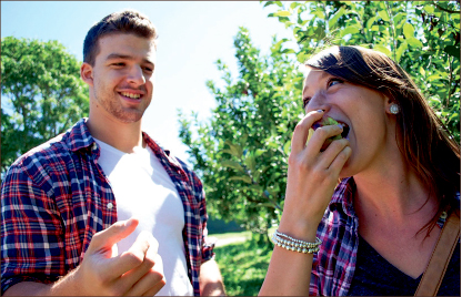 autumn — Students can enjoy nearby apple orchards such as Seaman's and Gross' Orchard. Photo credit: Courtney Russo