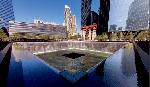 MEMORIAL — The newly-completeled Freedom Tower breathes new life into a city rocked by terror 13 years ago on Sept. 11.  Photo credit: Google Images