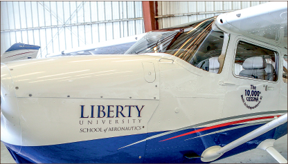 Defy gravity — New aircraft and equipment has provided students with new opportunities. Photo credit: Leah Seavers