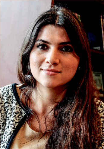 strong — Zibandeh Abedini put her life on the line for her Savior. Photo credit: Rachel Graf