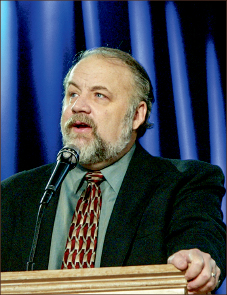 Doctor— Gary Habermas formerly coached hockey. Photo credit: Les Schofer