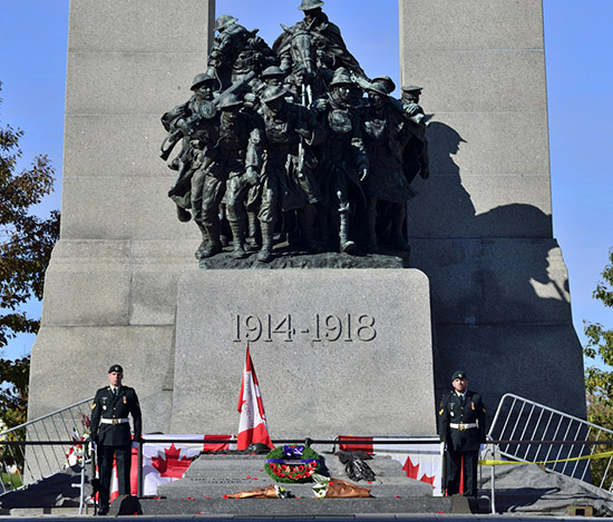 Canadians unite after Ottawa attack