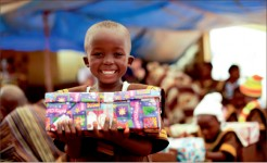 ecstatic — Operation Christmas Child has a long history of impacting people around the world during the Christmas season. Photo provided