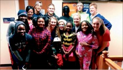 NO TRICKS — Trick Or Treat So Others Can Eat is one of many community service projects in which Liberty athletics volunteer.