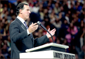 u.S. — Rick Santorum challenges leaders. Photo credit: Courtney Russo