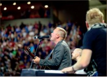 Music — Chris Tomlin premieres songs from his new album. Photo credit: Courtney Russo