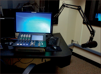 soundboard — New resources offer oppurtunities for students involved in radio. Photo credit: Caroline Milwicz