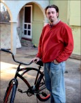 supply — Liberty gave Shane Reside bikes to help his ministry.  Photo credit: Courtney Russo