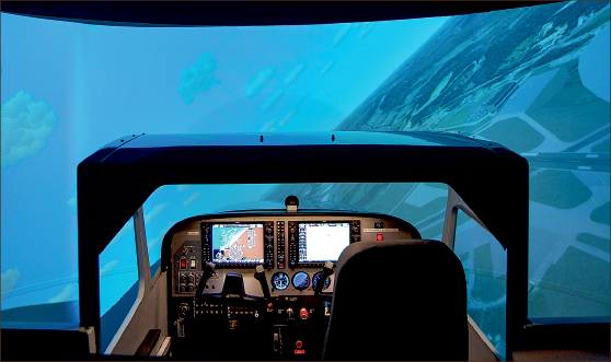 Simulators receive certification - The Liberty Champion