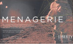 "Exhibit — Professor David Meyer's ""Menagerie"" opens Thursday, Jan. 22.  Photo provided"