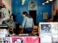 Hobby— Owner Tim Condon took an interest in vinyls as a teen. Lauren Adriance