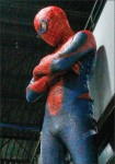 guard — Spider-Man aspires to help the citizens of Lynchburg. Photo credit: Amber Tiller