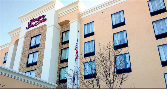 booked — Many Lynchburg-area hotels have run out of reservation space, causing many families to turn to Roanoke for alternative housing. Photo credit: Kiara Leers