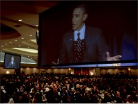 uproar — Barack Obama delivered controversial comments at yearly prayer breakfast. Photo provided