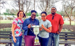 Distinction — The debate team traveled to Kansas to add another accolade to the trophy case. Photo provided