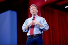 rally — Kentucky Sen. Rand Paul takes the stage at annual CPAC Friday, Feb. 27. Google Images