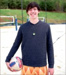 switch — Logan Smith mainly played basketball until he found a love for volleyball. Photo credit: Courtney Russo