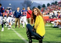 CAREER— Sports photography was one of Ruth Bibby's passions while at Liberty. Her love for fashion began when she modeled as a child. Photo credit: Courtney Russo