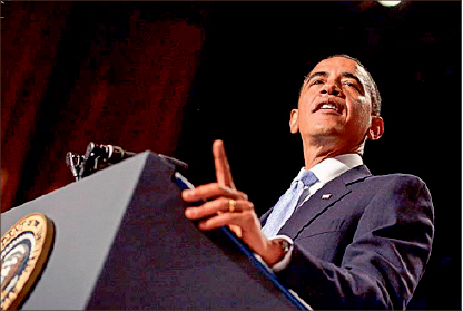 new effort  — Barack Obama launched campaign to ban gay conversion therapy for U.S. minors. Photo credit: Britannica Image Quest