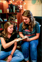 DISCUSSION — New changes encourage mentorship between students. Photo credit: Michela Diddle