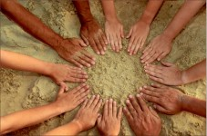 Community — Christians are called to love each other as Christ has loved them. Google Images