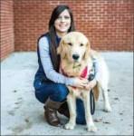 puppy LOVE  — Rachel Denton and Rollins. Photo credit: Michela Diddle